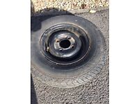Trailer wheel mini wheel