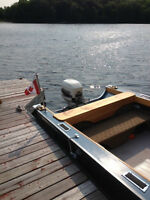 Re-built 35 Hp Johnson Outboard Motor