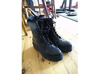 Jeffrey Campbell Black patent Finnick Boot Size 8