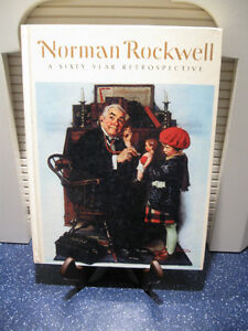 OLD 1972 NORMAN ROCKWELL 60-YEAR RETROSPECTIVE COLLECTOR'S GEM