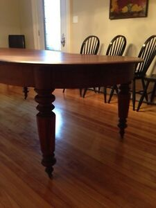 Beautiful Huge 1870s Antique Solid Walnut Dining Table Peterborough Peterborough Area image 3