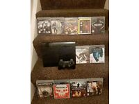 Sony PS3 PlayStation 3 Super Slim 500 GB Black Console with 100's of games and more
