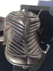 Black Fritz Goertz Leather saddle 17.5 £200 ono