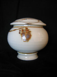 PORCELAIN JAR BY ONTARIO ARTIST