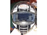 Motorcycle helmets in very good used condition
