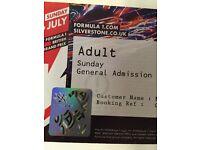 Silverstone F1 Sunday Tickets