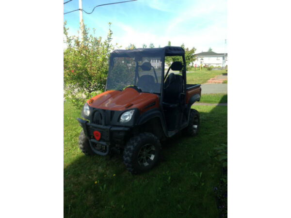 Used 2013 Chironex Spartan 600 EFI 4WD side by side