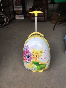 Kids tinker bell suitcase