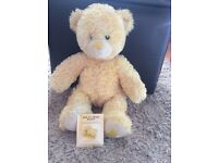 Limited edition yellow build a bear