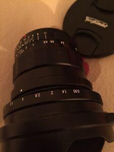 Voigtlander 10.5mm f0.95 wide Aspherical Lens M 4/3