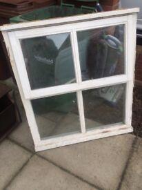 Free double glazed window