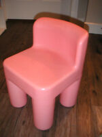 """little tykes"" child chair"