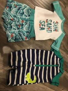 Boy swim suit size 0-3 months