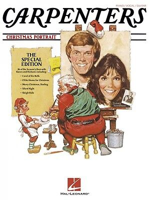 Carpenters Christmas Portrait Sheet Music Piano Vocal Guitar Songbook  000306430