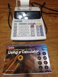 Business Calculator and Text Book Prince George British Columbia image 1