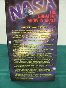 NASA The Greatest Show in Space Box Set of10 VHS tapes Peterborough Peterborough Area image 4