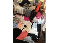 Job lot of women's size 8-10 clothes £25