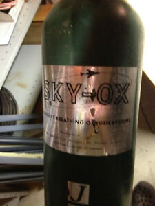 Sky OX Aircraft Breathing Oxygen Systems Vintage