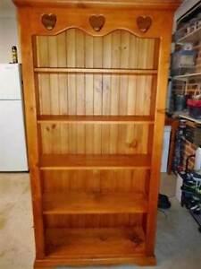 Timber Bookcase Greystanes Parramatta Area Preview