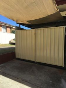 COLOURBOND GATE AND BLANK PANEL SUPPLY AND INSTALL!!! Sydney Region Preview
