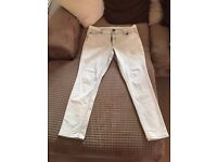 Pair of women's designer DKNY Jeans - Size 14