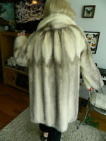 Diamond Pearl Mink Coat