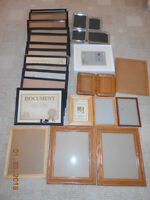 22 beautiful picture frames including IKEA frame