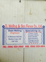 Dean welling & son fencing