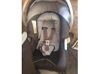 Mothercare car seat & bag
