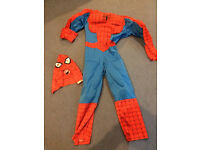 Spider-Man dressing up costume age 5-8