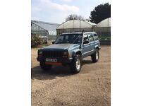 Jeep Cherokee xj 2.5 petrol road use and off road