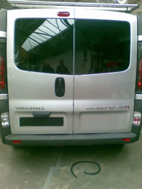 Vivaro Traffic Trafic Primistar Back Door Glass Panels For Camper Van