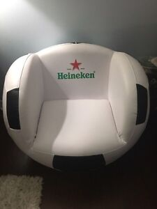 Heineken soccer chair $200 Kitchener / Waterloo Kitchener Area image 1