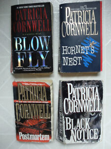 Patricia Cornwell Novels: (Grouped Set of Four)