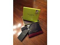 Ted Baker genuine leather wallet - unused.