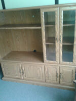 WALL UNIT FOR TV AND OTHER COMPONENTS