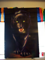Collectible Lighted Panther