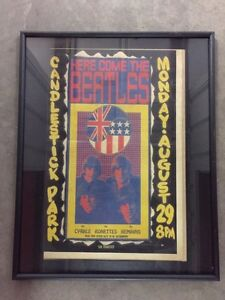 The Beatles Candlestick Park Concert Picture For Sale