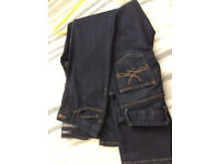 2 pairs of size 8, regular (medium) length, M&S slim bootcut jeans - £5 for both