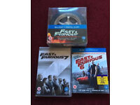 Fast and furious DVD's