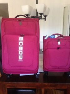 Ensemble de valise TRAVEL PRO (ROUGE)