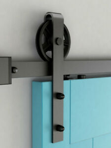 Many sizes & styles of barn door hardware on sale now!