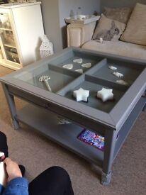 IKEA Liatorp Grey Coffee Table