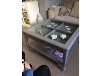 IKEA Liatorp Grey Coffee Table