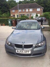 BMW 320i Gas BI fuel 2005 blue/grey metalic