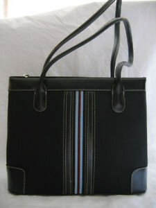 NEW BLACK FABRIC PURSE