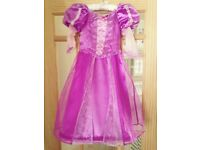 Disney store Rapunzel dress size 3-4 years