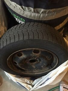 Michelin X-ice winter tires 205-60/16