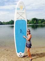 Kelly Air 11.0 Inflatable SUP with Flex-Fin and 20PSI