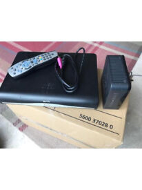Sky+HD box and router